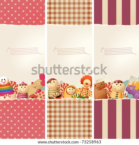 toys   paper   banners