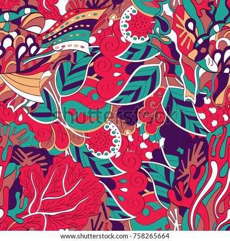 tracery seamless pattern