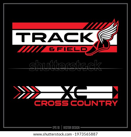 Track and Field insignia, Track Team, Sports Design, Team Logo, Track, Runner, Cross Country, XC