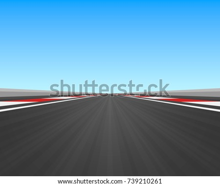 track road to infinity  road