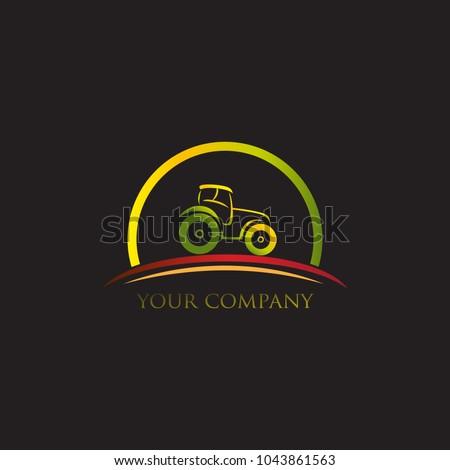 Tractor logo design