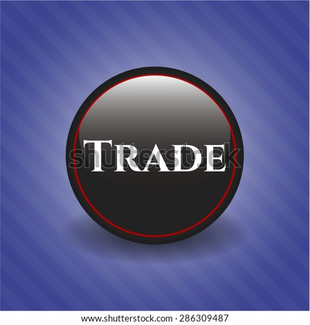 Trade dark badge
