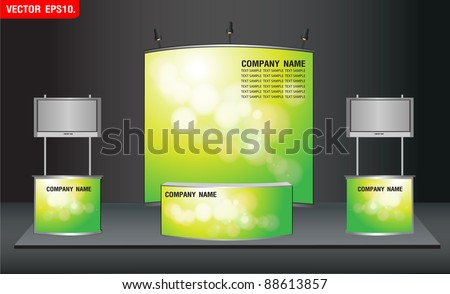 trade exhibition stand and