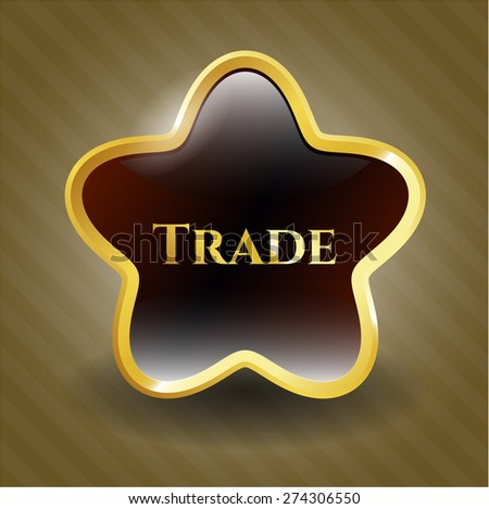 Trade gold shiny star