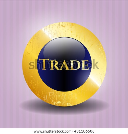 Trade golden badge