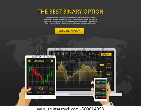 trade market binary option