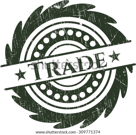 Trade rubber stamp