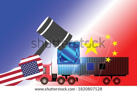 trade war  united states of