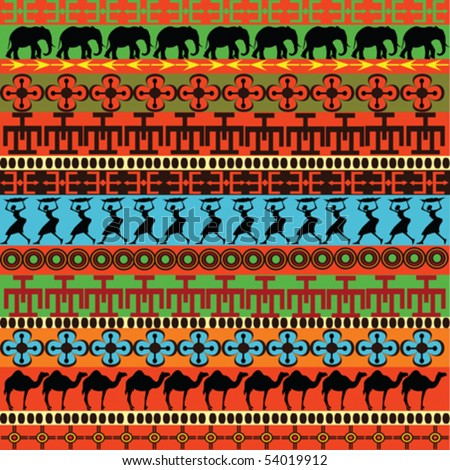 stock vector : Traditional African pattern