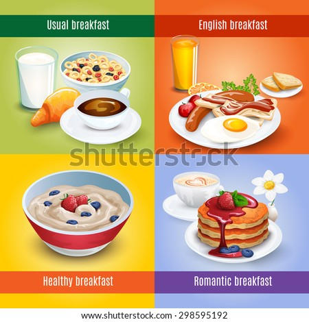 traditional breakfast cafe menu
