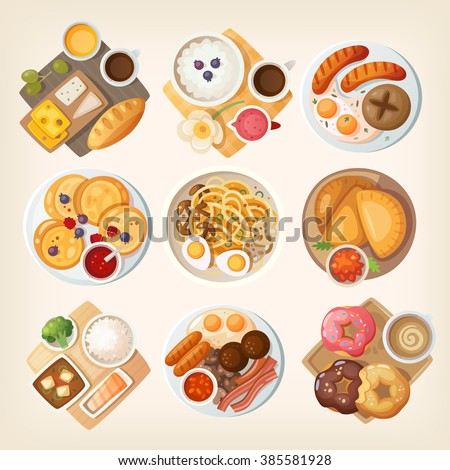 Food Illustration : Chinese Food :… Stock Photo 300401018