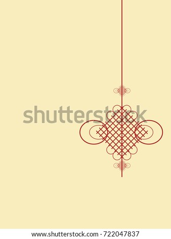 Traditional Chinese Knot Background, Festival, Celebration