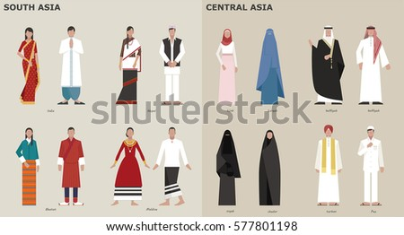 traditional costumes by country