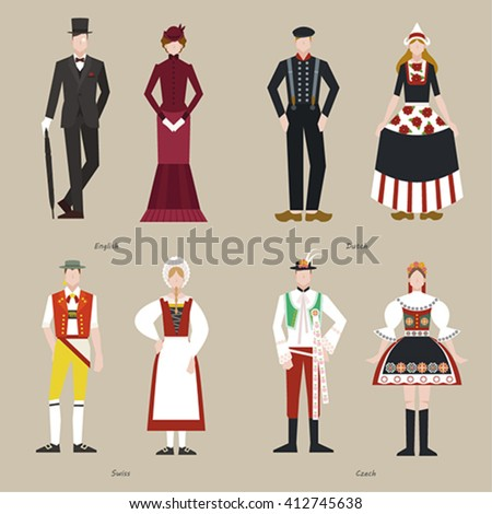 traditional costumes of the