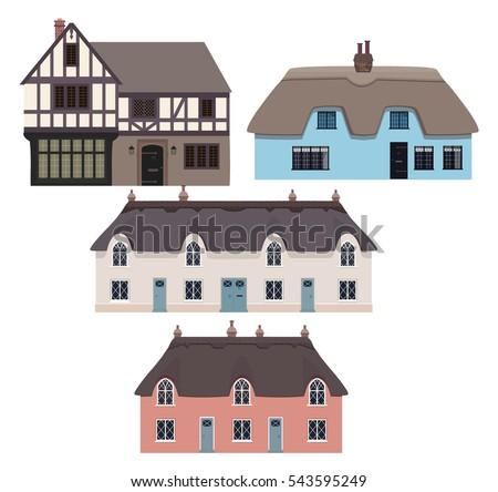 traditional english houses and