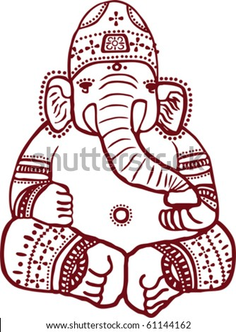 Vector Images Illustrations And Cliparts Traditional Indian Henna
