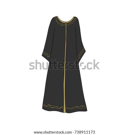 traditional islamic dress....