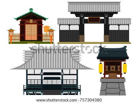 traditional japanese buildings