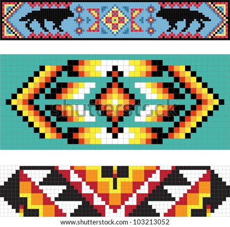 Traditional (Native) American Indian Pattern, Vector - 103213052 ...