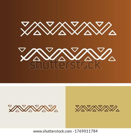 traditional old Sadu arabic vector design