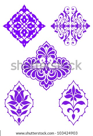 Traditional Ottoman Design Vector Illustration