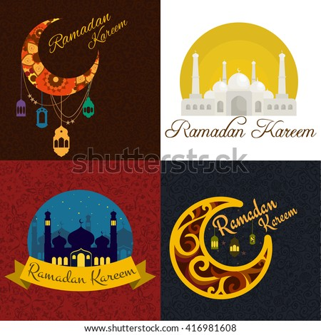 Vector images illustrations and cliparts traditional ramadan traditional ramadan kareem month celebration greeting card design holy muslim culture islamic religion mubarak m4hsunfo