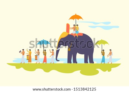 traditional religious elephant