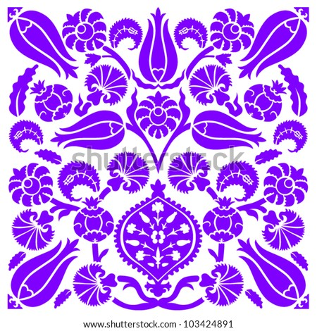 Traditional Turkish Design Vector Illustration
