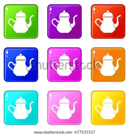 traditional turkish teapot...