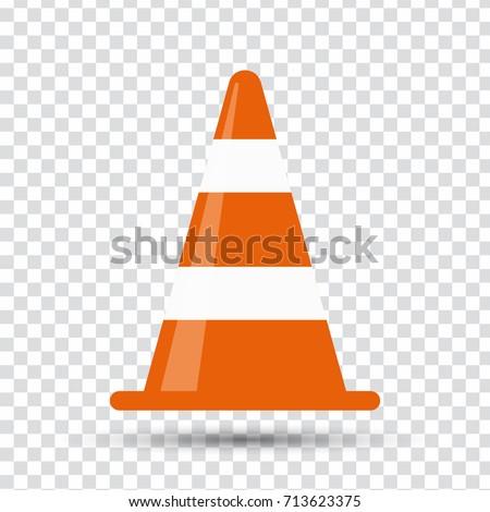 traffic cone Foto stock ©