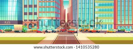 traffic jam on city streets