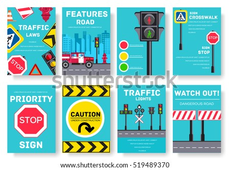 traffic light day vector