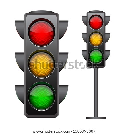 traffic lights with all three