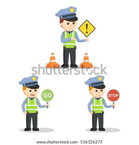 traffic officer set