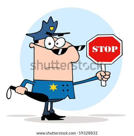 Traffic Icon Traffic Police Officer Icon