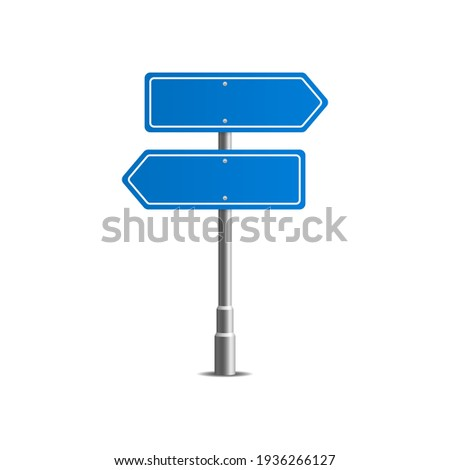 Traffic road realistic signs. Signage, warning sign stop danger caution speed highway, street board.