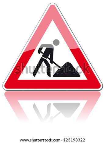 traffic sign construction zone