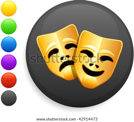 Tragedy And Comedy. Tragedy And Comedy Masks