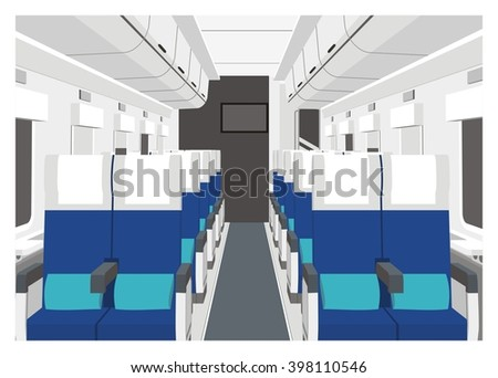 train car interior simple