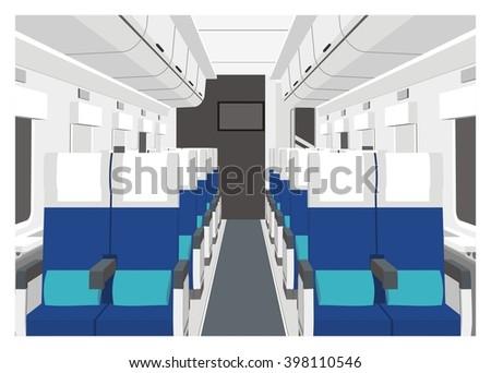 train car interior simple