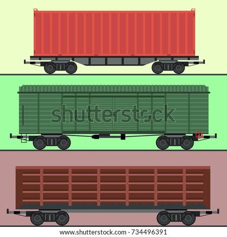 train carriages car railway