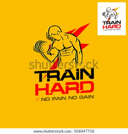 train hard fitness motivation