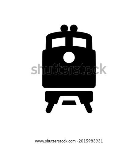 train icon glyph icon