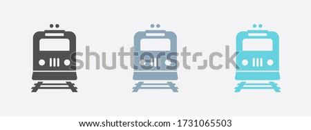 train icon metro symbol