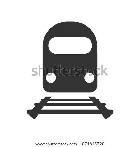 train iconsubway vector