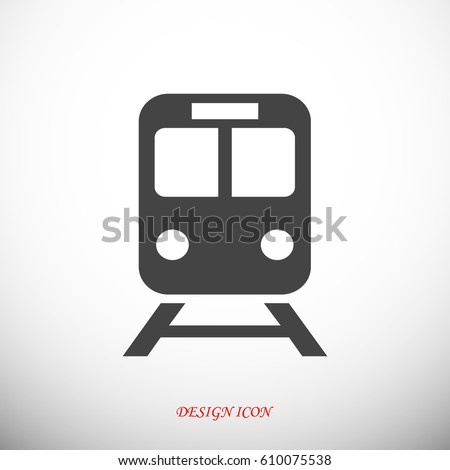 train icon  vector illustration
