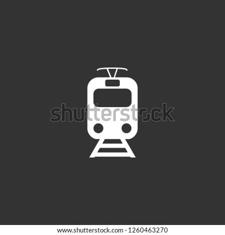 train icon vector train sign