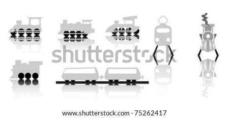 Train icons