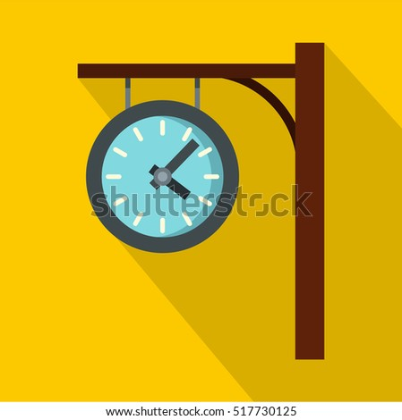 train platform outdoor clock