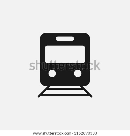 Train sign icon vector.transportation,travel,transport,ailway,railroad,rail,station,track,vehicle,passenger,locomotive,speed,journey,subway,wagon,carriage,road,departure symbol isolated icon